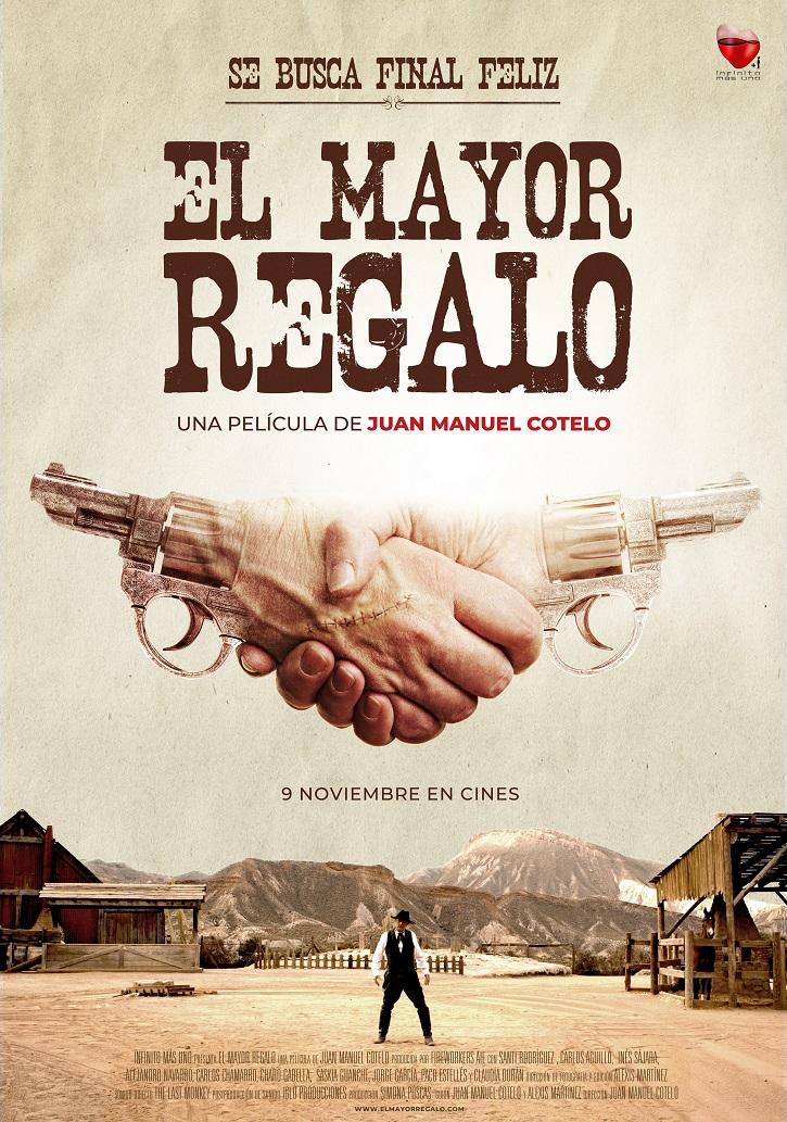 Cartel promocional del filme El mayor regalo, que se estrena en cines españoles el 9 de noviembre | Juan Manuel Cotelo ha preparado para ti 'El mayor regalo'