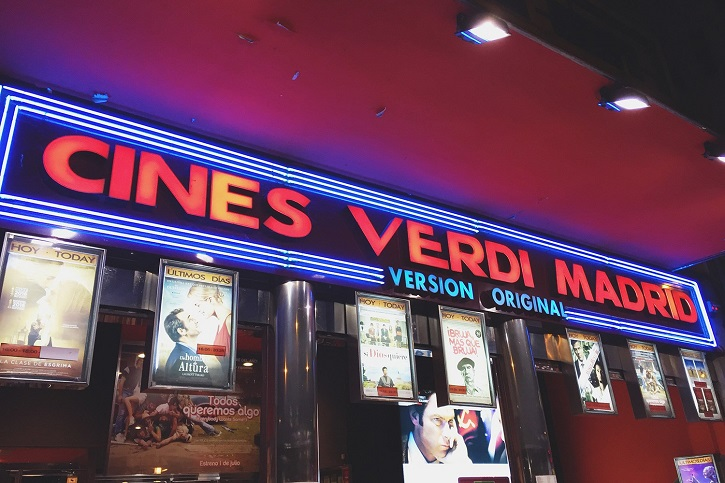 Sede de los Cines Verdi en Madrid | Los Cines Verdi programan un ciclo de cine para estudiantes