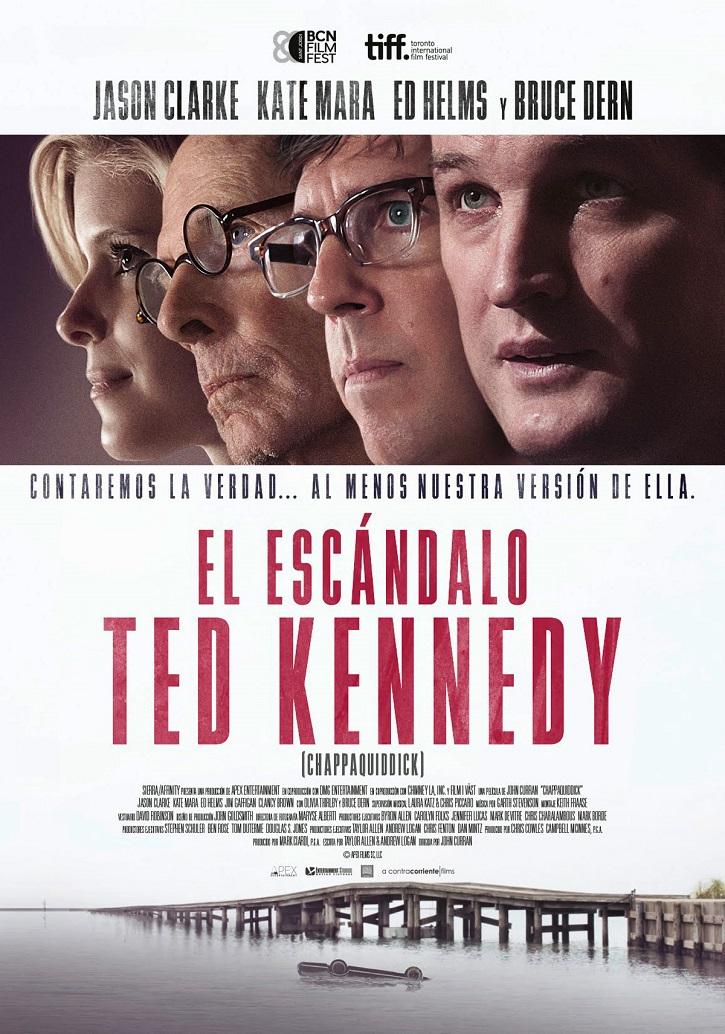 Cartel promocional de El escándalo de Ted Kennedy | Los Cines Verdi programan un ciclo de cine para estudiantes