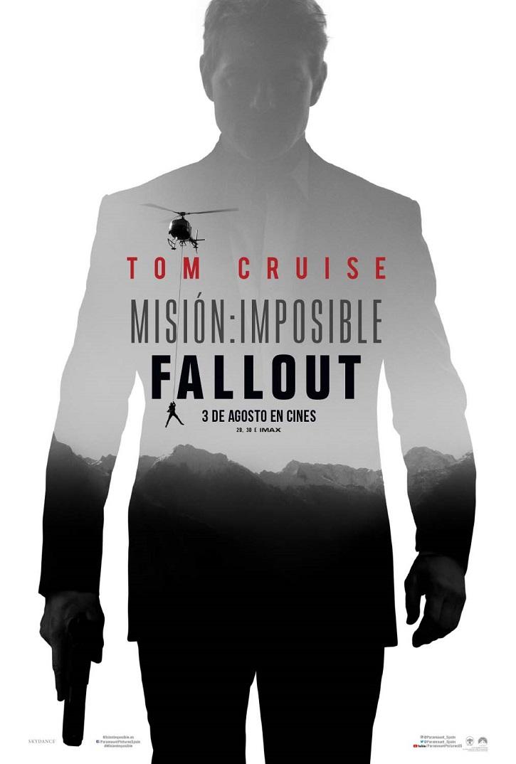 Cartel promocional de Misión imposible: fallout | 'Sicario: el día del soldado' y 'Misión imposible: fallout' en DVD