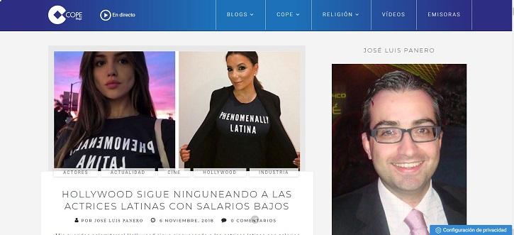 Captura del blog en 2018 | 'Palomitas de Maíz' cumple hoy 10 años: ¡muchísimas felicidades!