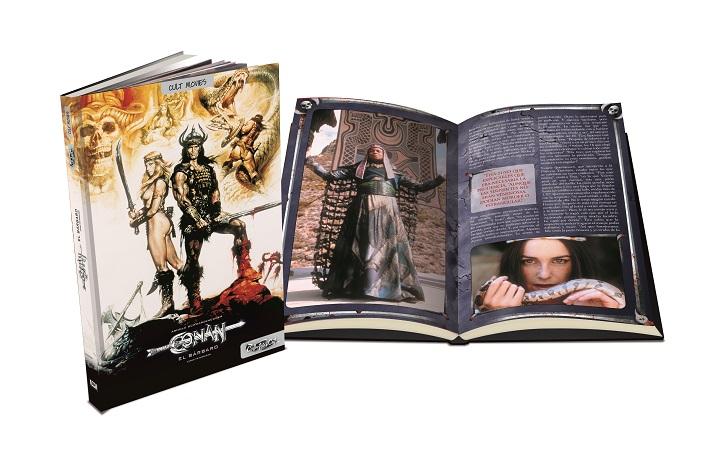 Carátula y libro de Conan el bárbaro | Collector's Cut amplía su catálogo con 'West Side Story'