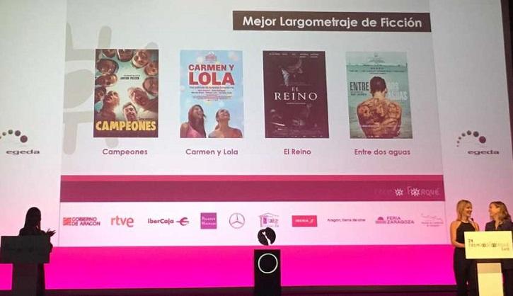 Las cuatro películas estrella optan al premio a la mejor peli: Campeones, Carmen y Lola, El Reino y Entre dos aguas | El cine español limpia el esmoquin para los Premios Forqué