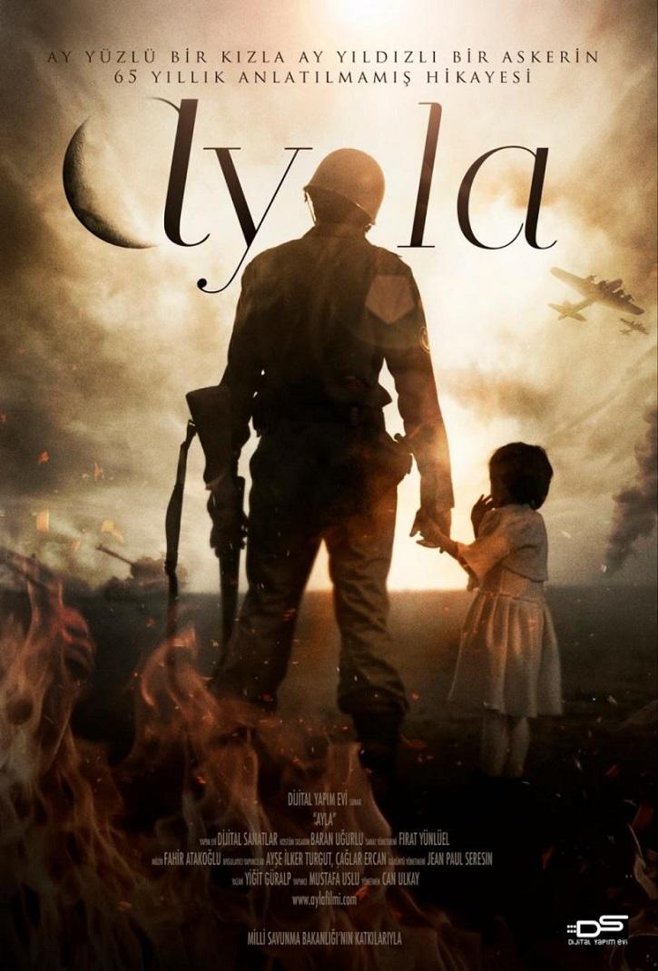 Cartel promocional de Ayla, la hija de la guerra | I Encuentro de Cine solidario en Alcalá de Henares