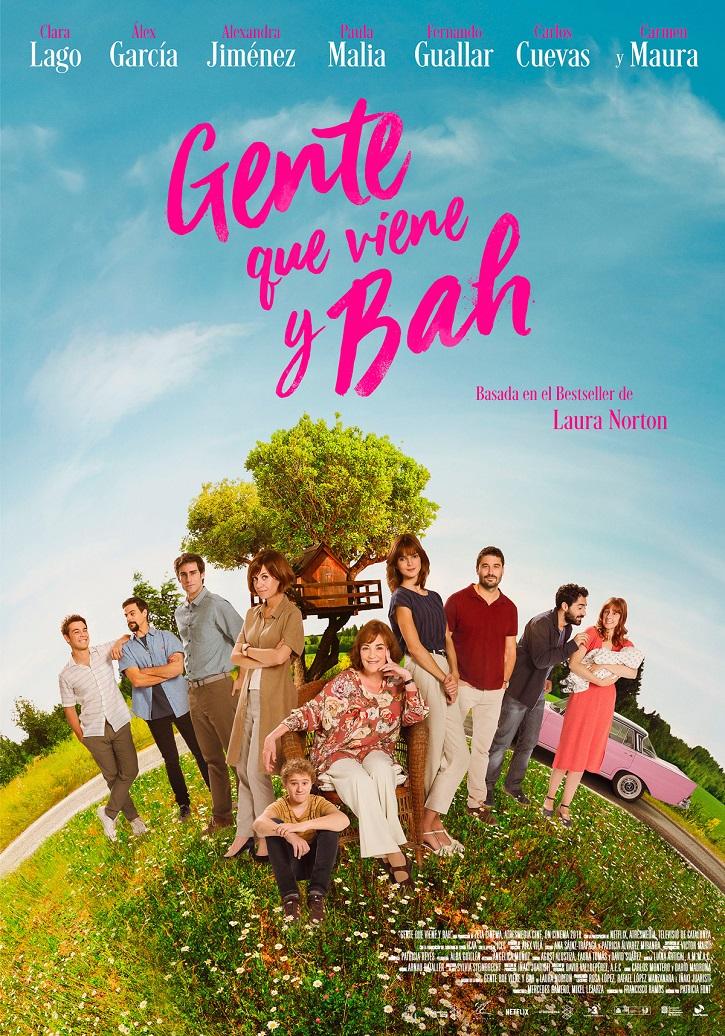 Cartel promocional del filme Gente que viene y bah, dirigido por Patricia Font | 'Gente que viene y bah': Patricia Font bendice las infidelidades