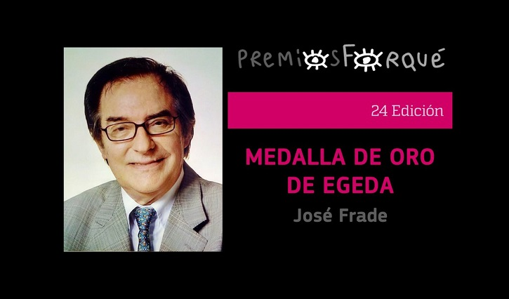 El prolífico productor de cine y televisión, José Frade, recibirá la Medalla de Oro de Egeda | El cine español limpia el esmoquin para los Premios Forqué