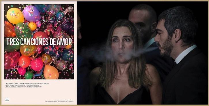 Imagen del montaje Tres canciones de amor | 'Tres canciones de amor': Sentimientos musicales en La Cuarta Pared