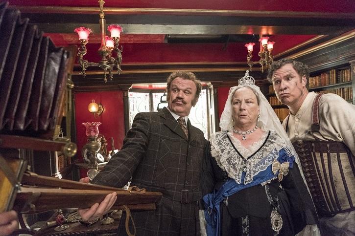 John C. Reilly, Pam Ferris y Will Ferrell | 'Holmes y Watson': otra tomadura de pelo de Etan Cohen