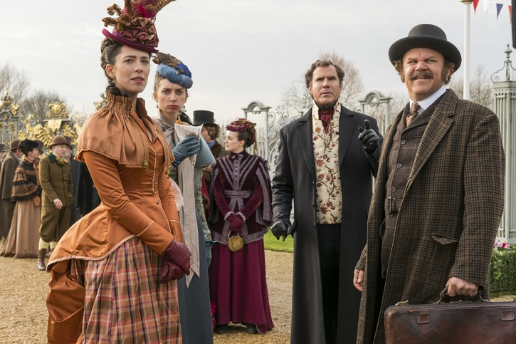 John C. Reilly, Lauren Lapkus, Rebecca Hall, Will Ferrell | 'Holmes y Watson': otra tomadura de pelo de Etan Cohen