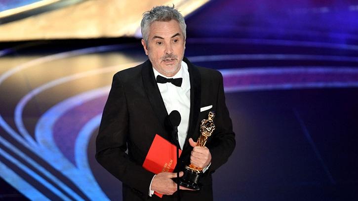 Alfonso Cuarón, director de Roma | Oscars 2019: 'Green Book' gana la película y Cuarón el director