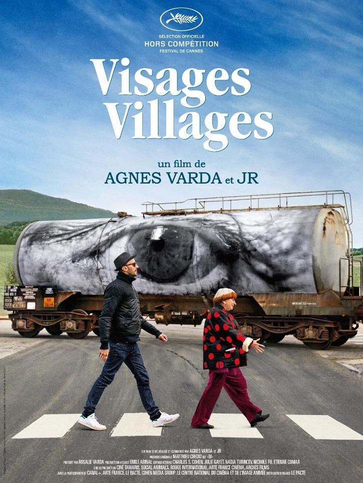 Cartel promocional de Caras y lugares | Arranca la VI edición de Educacine en Madrid