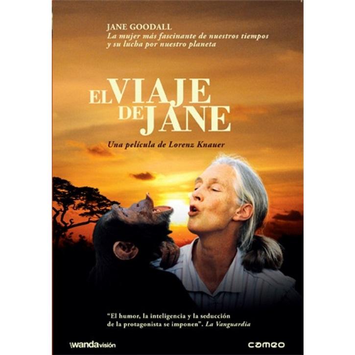 Cartel promocional de El viaje de Jane, distribuido en cines por Wanda y en DVD por Cameo | 'El viaje de Jane': Documental de la primatóloga Jane Goodall