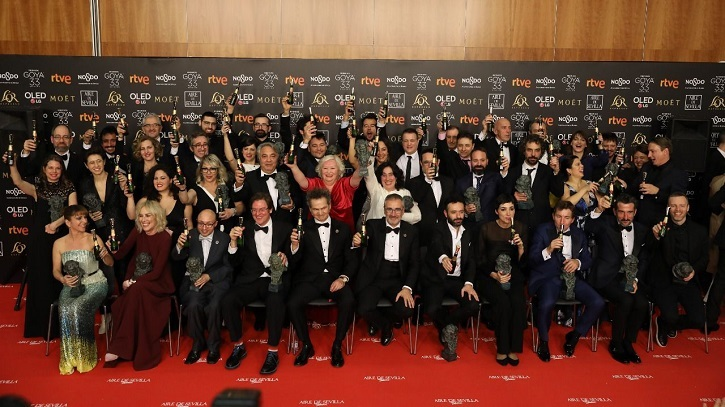 Ganadores del premio Goya 2019 | 'Premios Goya': 'El Reino', 7 pero gana 'Campeones' con 3