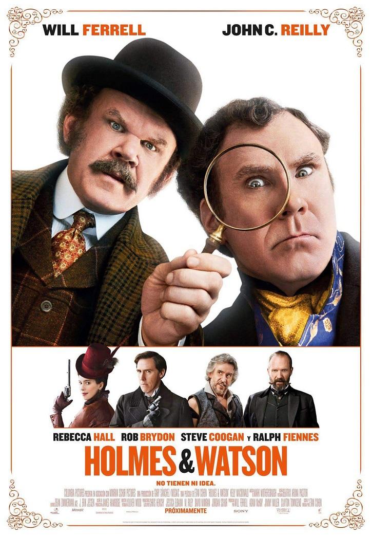 Cartel promocional del infumable filme Holmes&Watson, dirigido por Etan Cohen | 'Holmes y Watson': otra tomadura de pelo de Etan Cohen