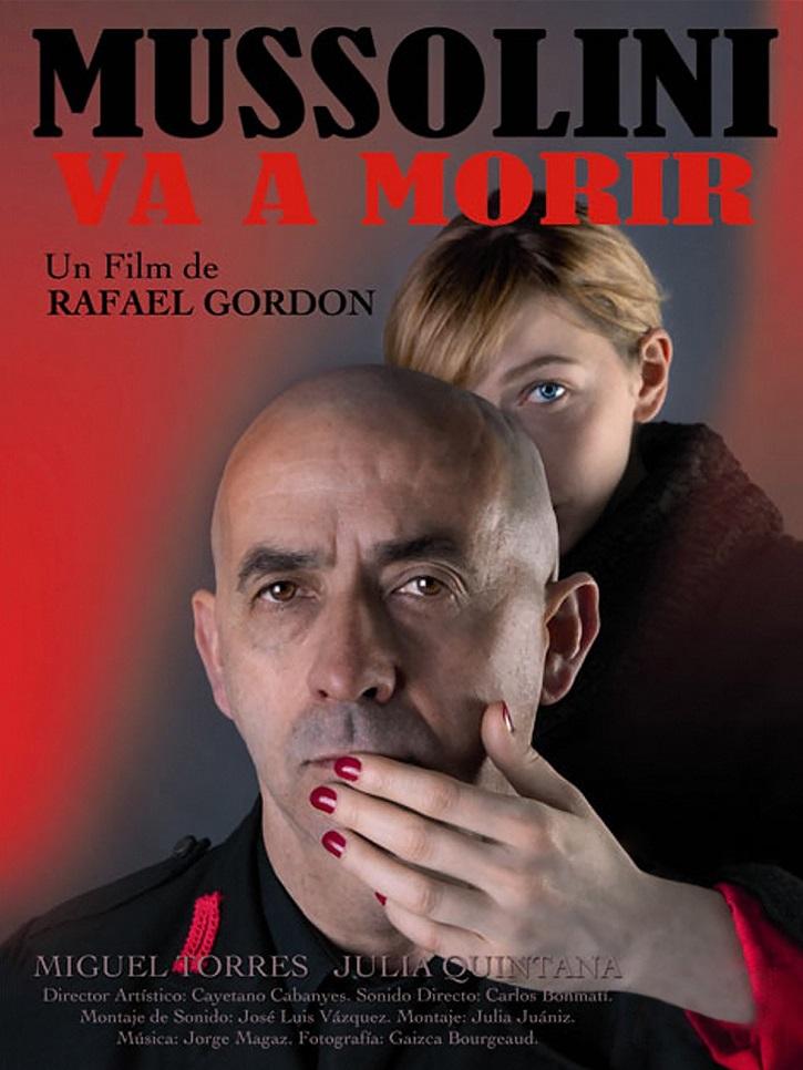 Carátula del filme Mussolini va a Morir | Rafael Gordon estrena 'La Pasión de Kierkegaard' en Teatro Lagrada