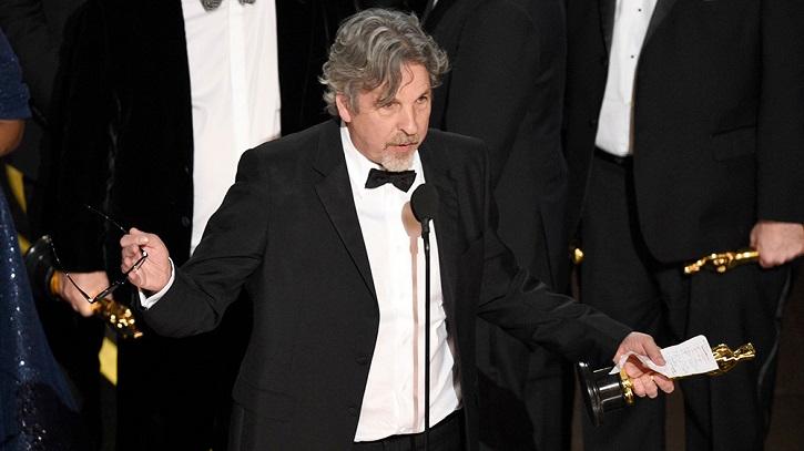 Peter Farrelly, director de Green Book | Oscars 2019: 'Green Book' gana la película y Cuarón el director