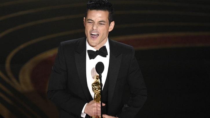 Rami Malek, mejor actor por Bohemian Rhapsody | Oscars 2019: 'Green Book' gana la película y Cuarón el director