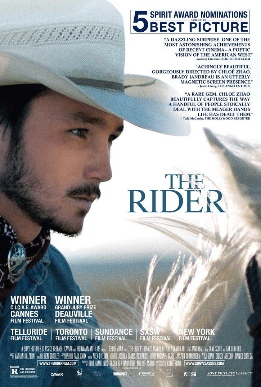 Cartel promocional The rider | Arranca la VI edición de Educacine en Madrid