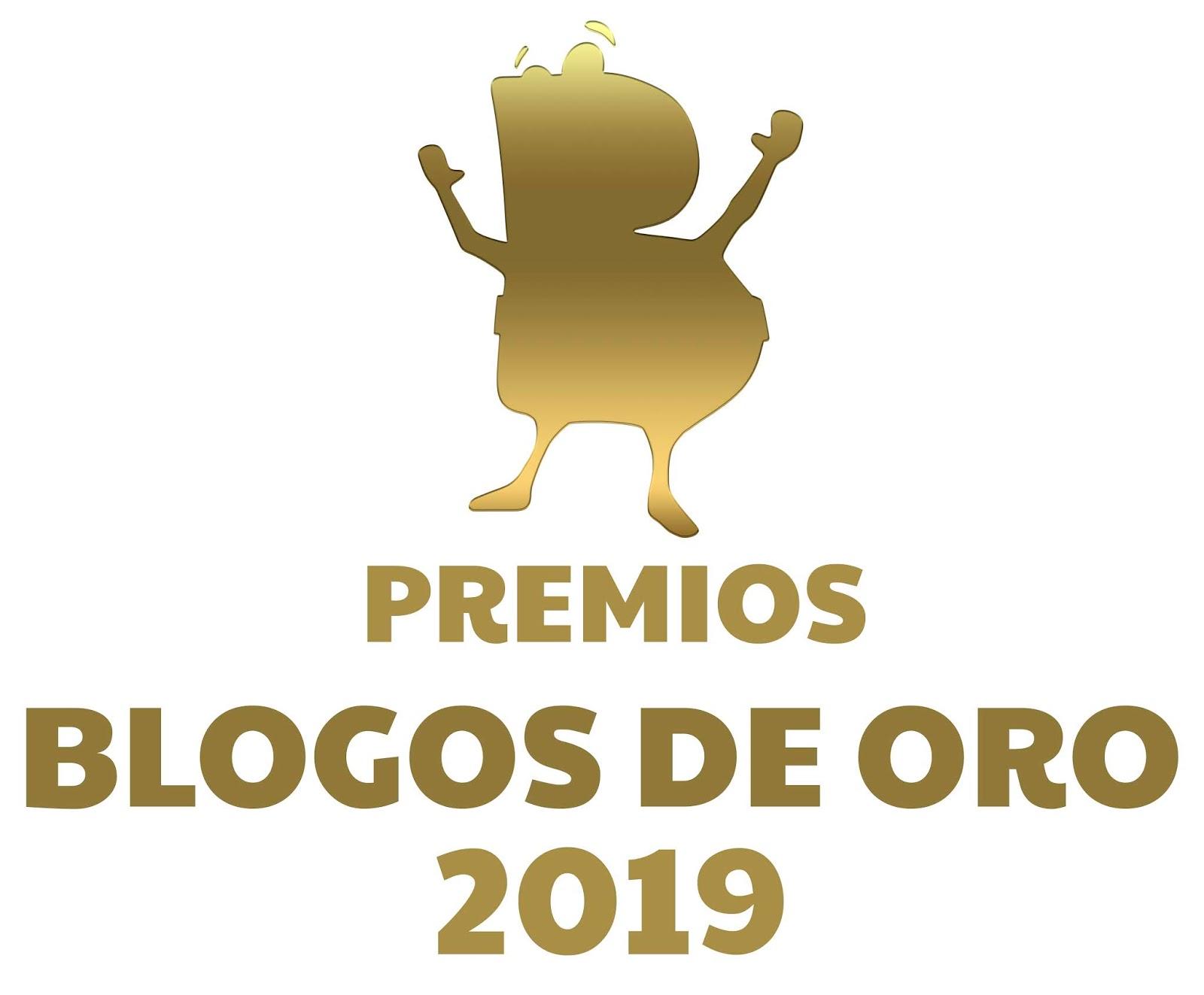 Cartel promocional de la gala de los Blogos de Oro 2019 | VI Edición Premios Blogos de Oro