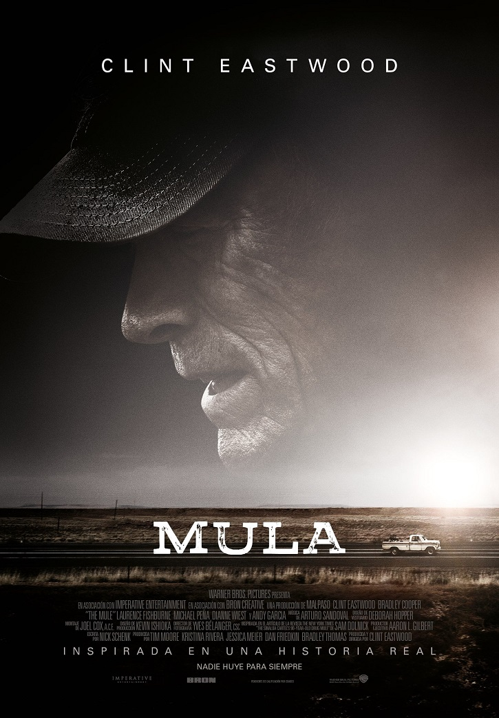 Cartel promocional de Mula |  'Mula': Clint Eastwood actualiza al héroe Robin Hood