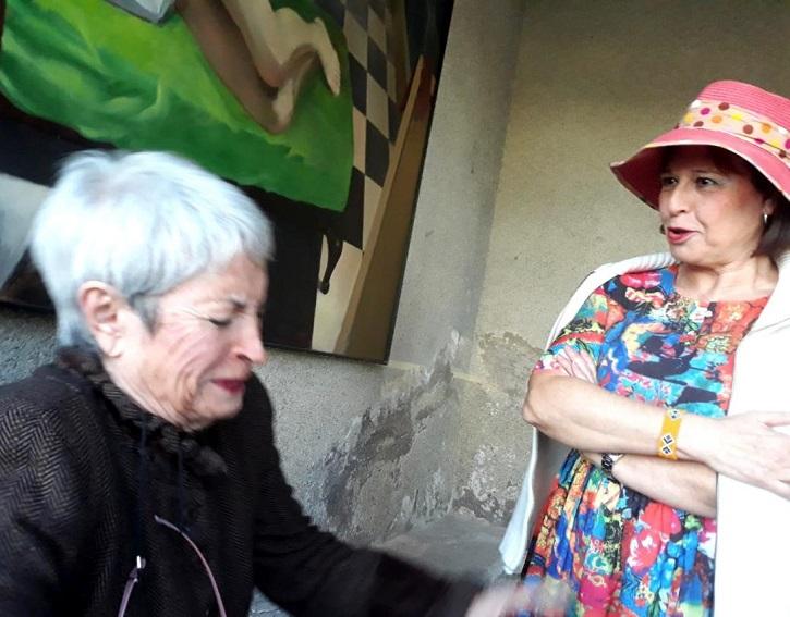 Milagros Morón y Encarna espejo pulen los personajes de Priscila y Natalia | 'Ateneo de Pozuelo' estrena 'El cerco de Leningrado' en Espacio EducArte