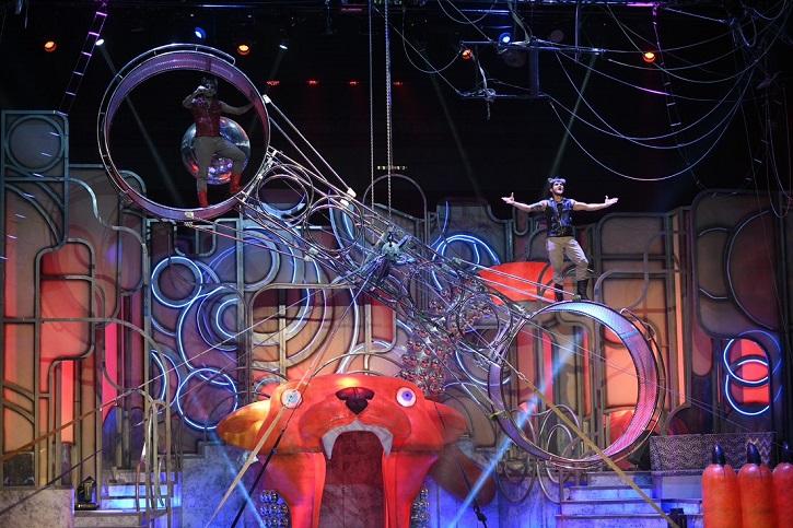 Detalle del espectáculo The Hole Zero | Llega a Madrid 'El Jovencito Frankenstein' 'Ghost' 'Jesus Christ Superstar'