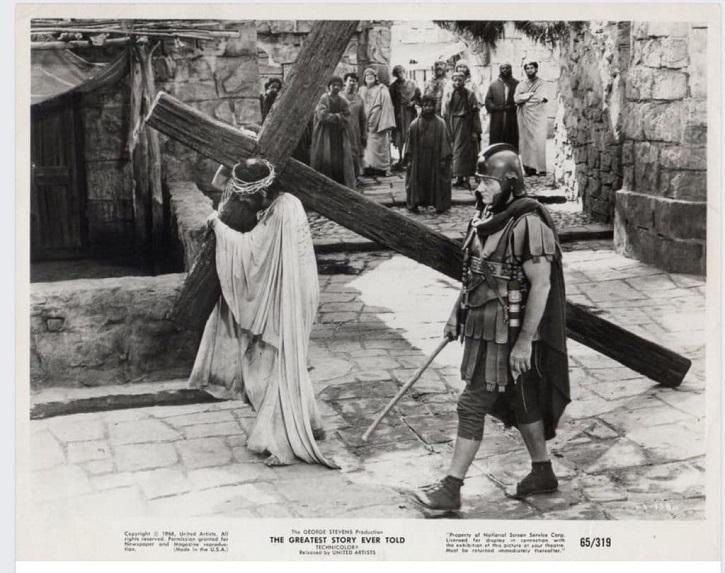 John Wayne en La historia más grande jamás contada | Sábado Santo: El cine de la Semana Santa alza la voz
