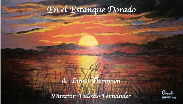 Cartel promocional de En el estanque dorado | 'En el estanque dorado' en Manzanares el Real con Ateneo de Pozuelo