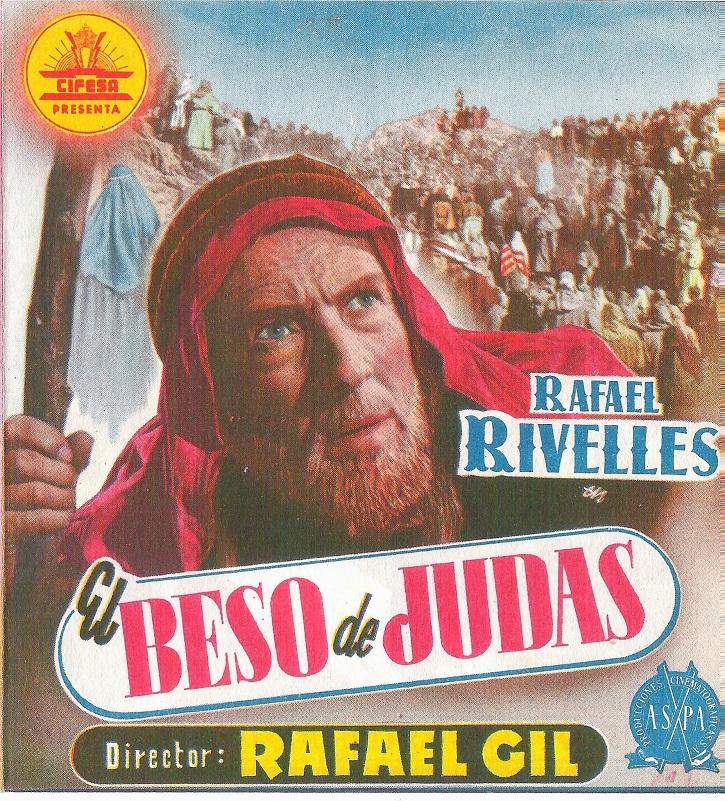Cartel promocional de El beso de Judas | Viernes Santo: El cine de la Semana Santa alza la voz