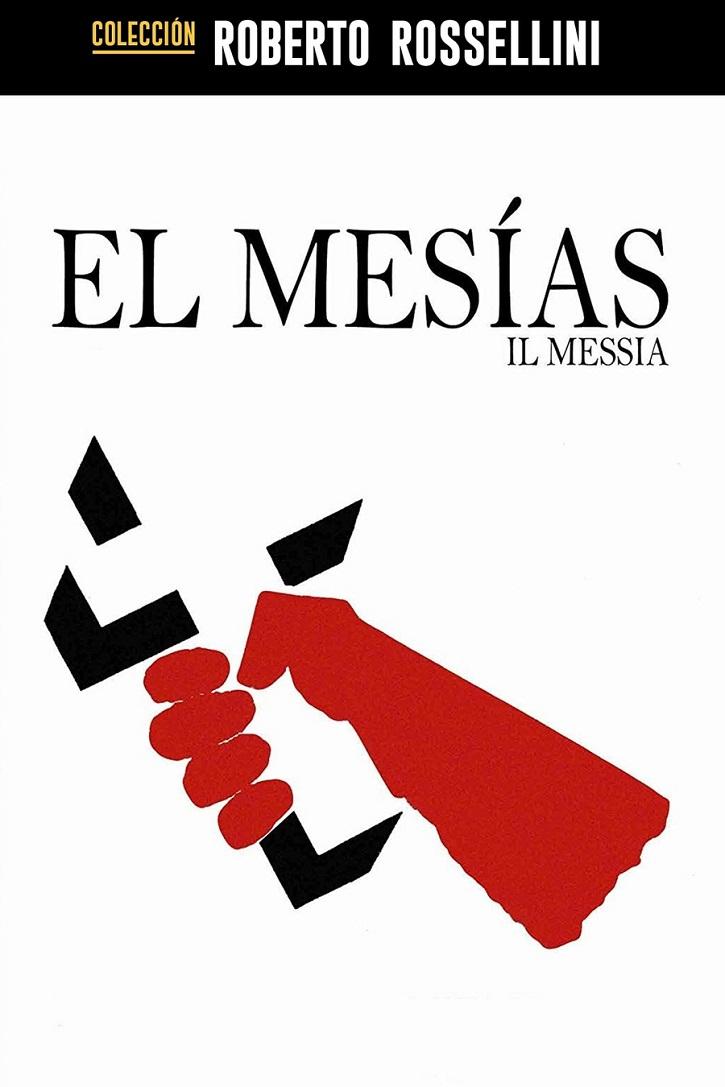 Cartel promocional de El Mesías, de Rossellini | Domingo de Resurrección: El cine de la Semana Santa alza la voz