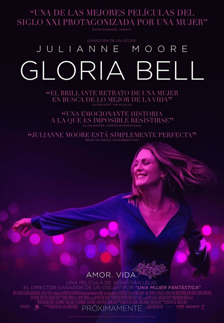 Cartel promocional del filme Gloria Bell | 'Gloria Bell': Julianne Moore salva el remake de Sebastian Lelio