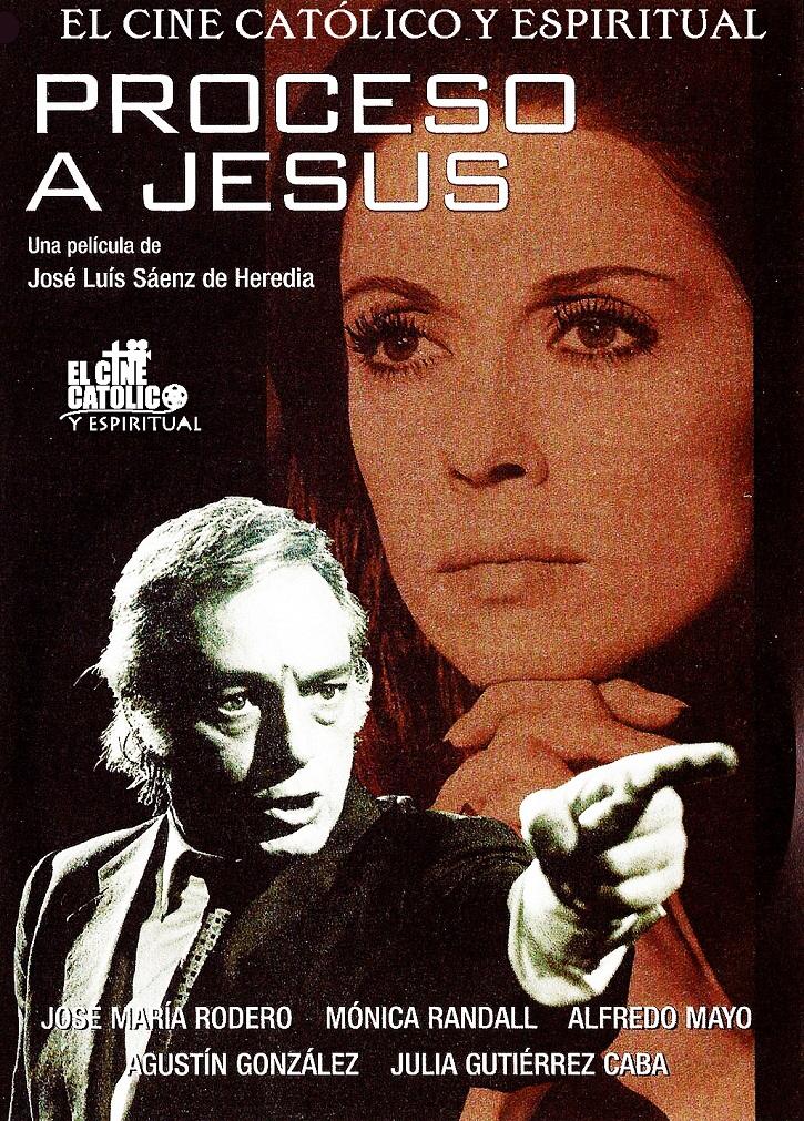 Cartel promocional del filme Proceso a Jesús | Sábado Santo: El cine de la Semana Santa alza la voz