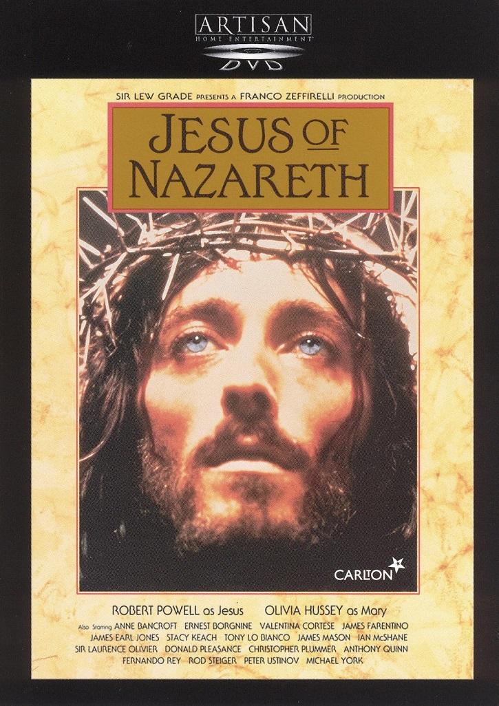 Cartel promocional de Jesús de Nazaret | Franco Zeffirelli contempla hoy a su 'Jesús de Nazaret'