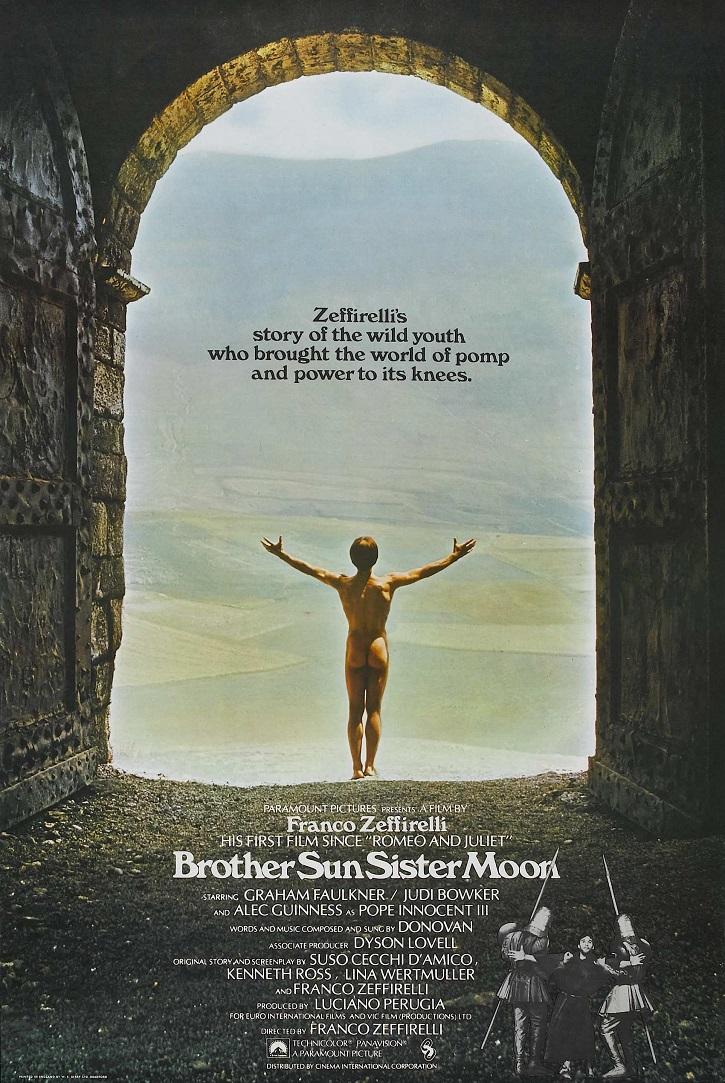 Cartel promocional de Hermano sol, hermana luna | Franco Zeffirelli contempla hoy a su 'Jesús de Nazaret'