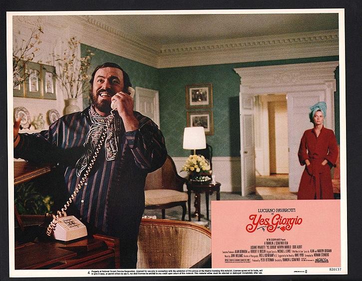 El cantante de ópera, Luciano Pavarotti en Yes Giorgio | Ópera en pantalla: Cátedra lanza una atractiva historia de amor