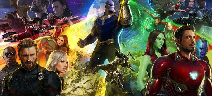 Cartel de Infinity War | 'Avengers: Endgame' ya es la peli más taquillera de la historia del cine