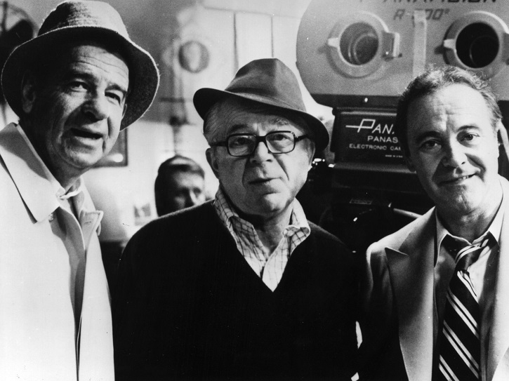 Billy Wilder junto a Jack Lemmon y Waler Matthau | Ha llegado Billy Wilder a la cineteca mexicana