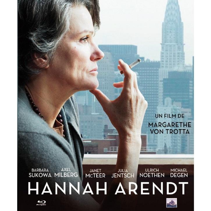 Cartel promocional del filme Hannah Arendt, de Von Trotta | Tecnos lanza 'La política va al cine': la realidad supera a la ficción