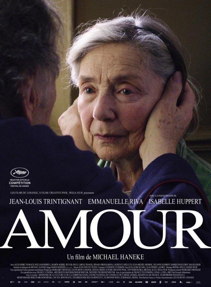 Cartel promocional del filme Amour, de Michael Haneke | La eutanasia llega a España