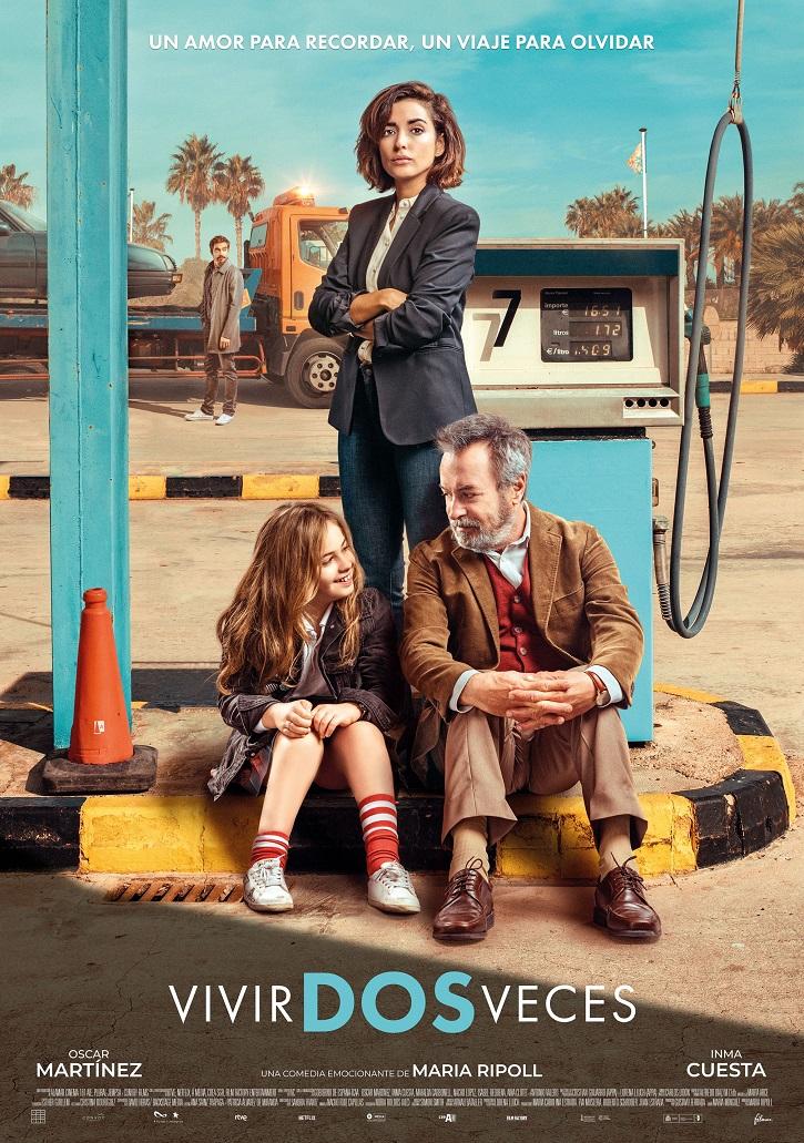 Cartel promocional del filme de María Ripoll, Vivir dos veces | María Ripoll recuerda que es posible 'Vivir dos veces'