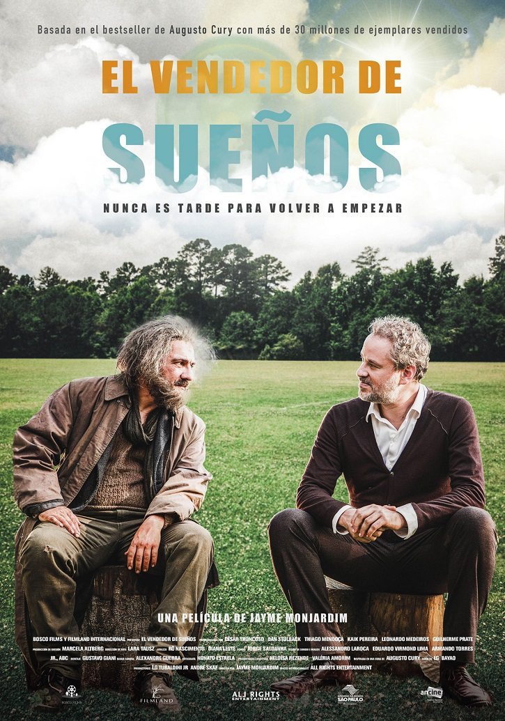 Cartel promocional de El vendedor de sueños | Jayme Monjardim lleva al cine a un influencer en 'El vendedor de sueños'
