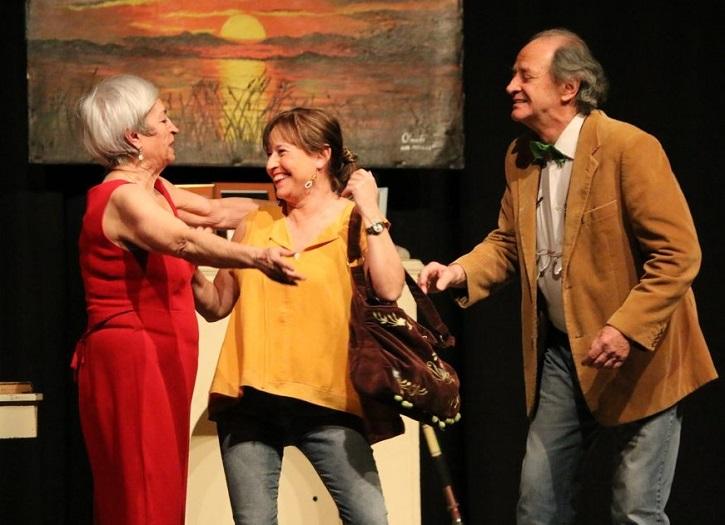Milagros Morón, Encarna Espejo y Luis Higueras | El Ateneo de Pozuelo abre el XX Certamen de Teatro José María Rodero con 'En el estanque dorado'