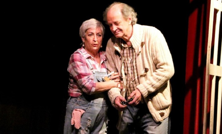 Milagros Morón da vida a Ethel y Luis Higueras a Norman | El Ateneo de Pozuelo abre el XX Certamen de Teatro José María Rodero con 'En el estanque dorado'