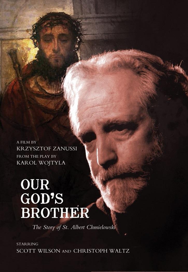 Otro luminoso cartel de la película   El Papa San Juan Pablo II escribió para teatro 'Hermano de Nuestro Dios'