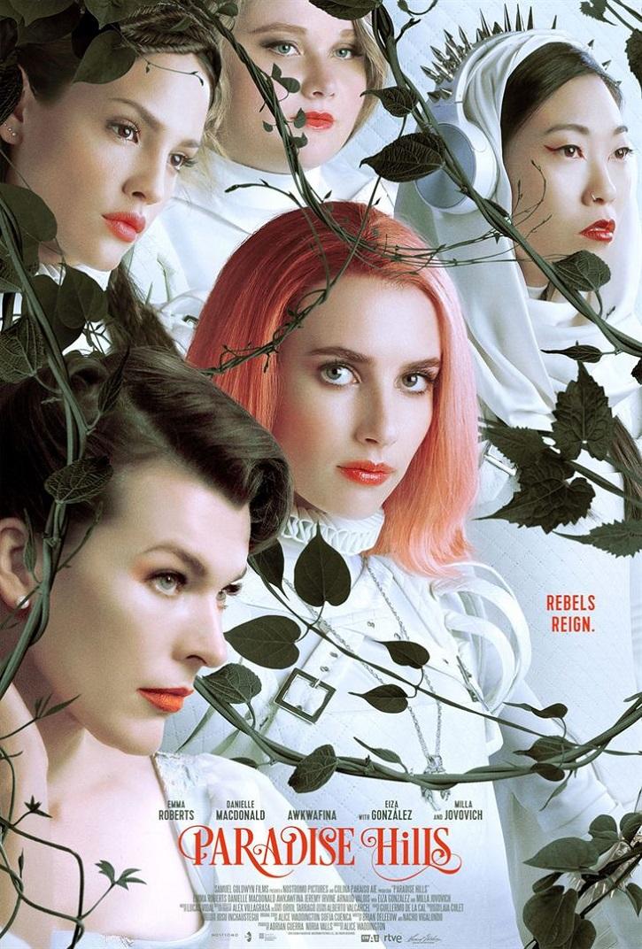 Otro cartel promocional del filme español Paradise Hills | Emma Roberts | 'Paradise Hills': Alice Waddington debuta con una digna distopía feminista
