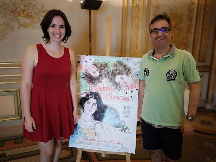 José Luis Panero y la directora de cine, Antonella Sudasassi | 'Palomitas de Maíz' cumple hoy 11 años: ¡Muchísimas felicidades!
