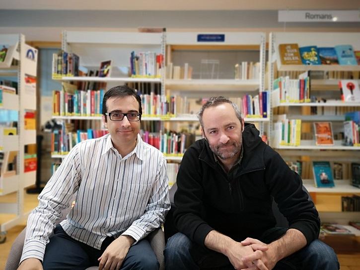 José Luis Panero y el director de cine francés, Cédric Kahn | 'Palomitas de Maíz' cumple hoy 11 años: ¡Muchísimas felicidades!
