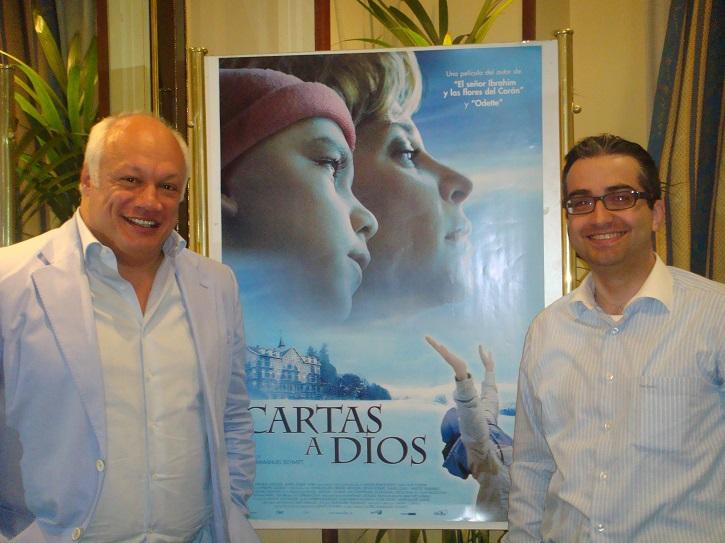 Éric-Emmanuel Schmitt y José Luis Panero | 'Óscar o la felicidad de existir' revienta la Sala Arapiles 16