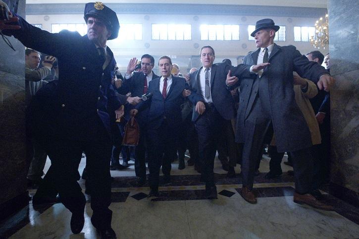 Fotograma de El Irlandés, con Al Pacino y Robert de Niro | 'El Irlandés': Martin Scorsese padrino del crimen organizado