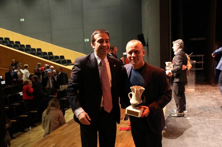 José Luis Panero con el ganador del Goya, Javier Gutiérrez | 'Palomitas de Maíz' cumple hoy 11 años: ¡Muchísimas felicidades!